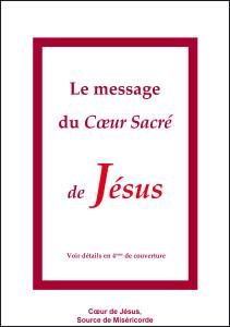 Livre Le message du Sacré-Coeur de Jésus