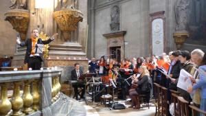 Orchestre pour la fête de la Miséricorde
