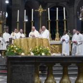 Messe solennelle du Dimanche de la Miséricorde Divine 2014