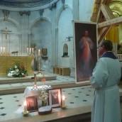 Accueil du Père Curé