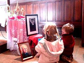Veillée auprès des reliques de Sainte Faustine, Saint Jean-Paul II et Bienheureux Michel Sopocko