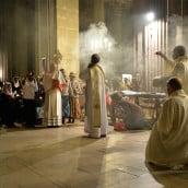 Premier vendredi du mois procession du Saint Sacrement