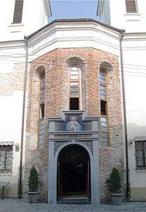 Sanctuaire de la Miséricorde Divine à Vilnius, rue Dominiconu 12 g