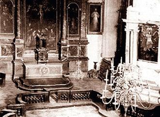 L'église Saint Michel à Vilnius où le tableau du Christ Miséricordieux est resté 5 ans