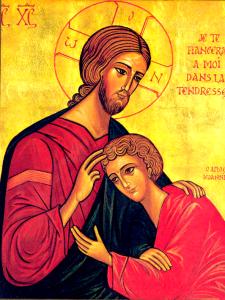 Venez reposer sur le Coeur de Jésus. Venez Lui confier vos peines et vos joies.