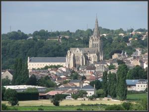 Abbatiale de Saint-Maixent l'Ecole en Poitou-Charentes