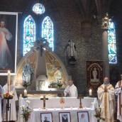 Messe présidée par Mgr Centène
