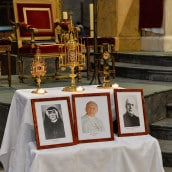 Reliques de Sainte Faustine, Saint Jean-Paul II et du bienheureux Sopocko
