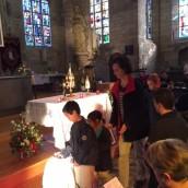 Vénération des reliques- les enfants