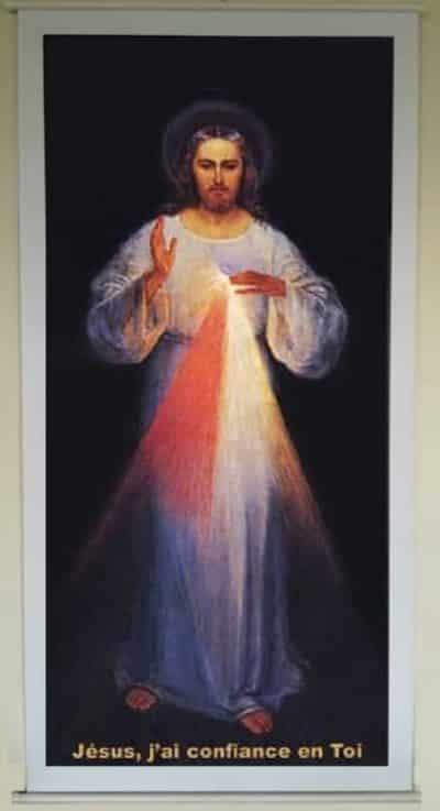Affiche Jésus Miséricordieux