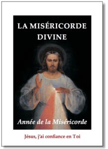 Livret de la Miséricorde divine pour le jubilé de la Miséricorde