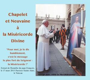 CD chapelet et neuvaine à la Miséricorde Divine