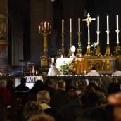 Adoration du Très Saint Sacrement samedi soir - 2 avril 2016 - 11ème Anniversaire de la mort de Jean-Paul II