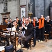 Musiciens (orchestre) et choeur - Fête de la miséricorde divine 2016