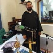 Sainte Faustine et le bienheureux Michel Sopocko au studio de Radio Salve Regina
