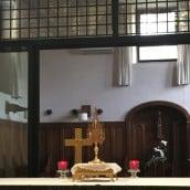 Les saints chez les Clarisses de Bastia