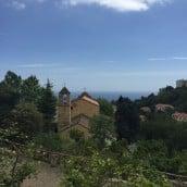 Vue sur le couvent de Saint Antoine