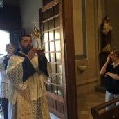 L'arrivée des reliques: Saint Jean-Paul II