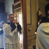L'arrivée des reliques : Sainte Faustine