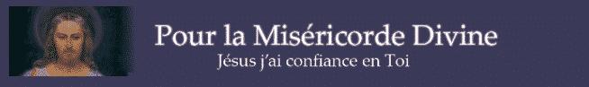 Pour la miséricorde divine
