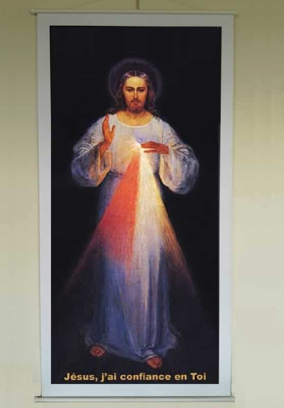 Grande affiche de Jésus Miséricordieux
