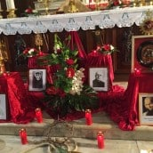 Les reliques de sainte Faustine, de saint Jean-Paul II et du bienheureux Michel Sopocko