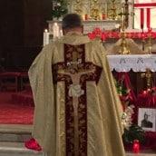 Père Michael Nachez le jour du Christ Roi
