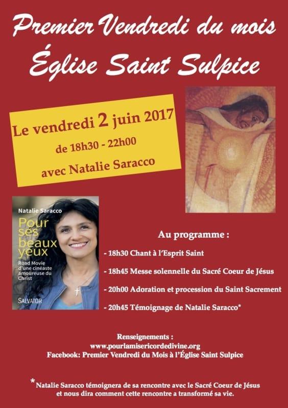 2 Juin avec Natalie Saracco