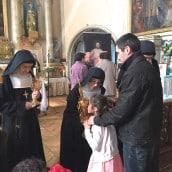 Vénération des reliques dimanche