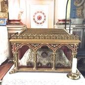 Reliques de sainte Marguerite Marie