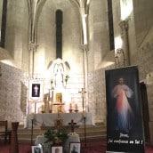 Exposition des reliques à l'église paroissiale