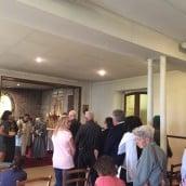 Vénération des reliques le 15 août dans la Chapelle des Apparitions