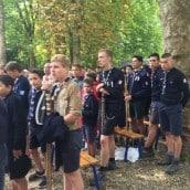 Les scouts d'Europe étaient parmi nous