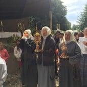 et les reliques des saints apôtres de la Miséricorde Divine