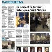 L'article du Dauphiné