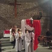 Procession avant la messe