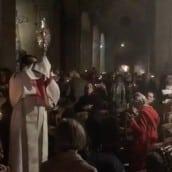 Procession du Saint Sacrement samedi soir avec le Père Alexsi Leproux
